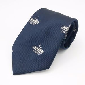 Presented by The BOEING Company Boat Print Tie
